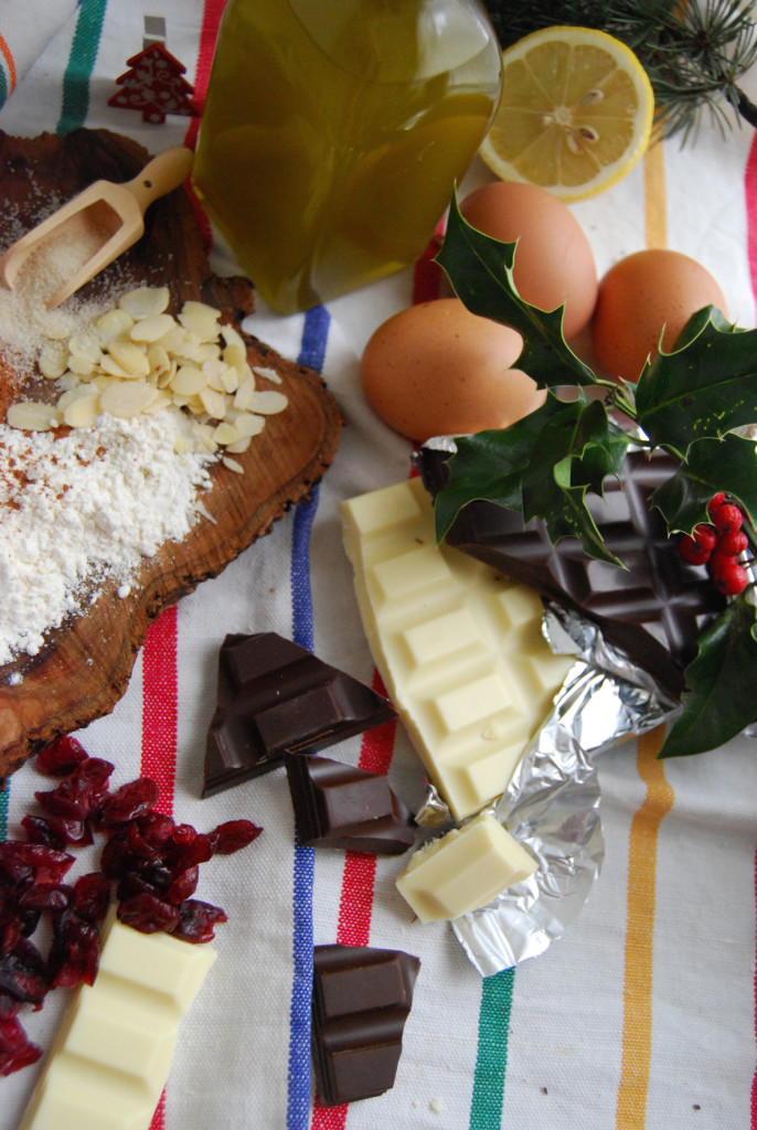 Ingredients for Cantucci