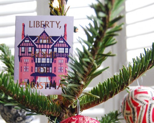 Liberty Inspired Christmas Tree