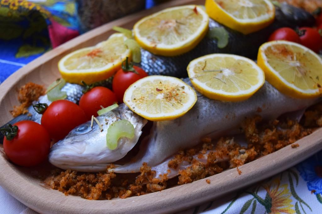 Lemon and Sea Bass