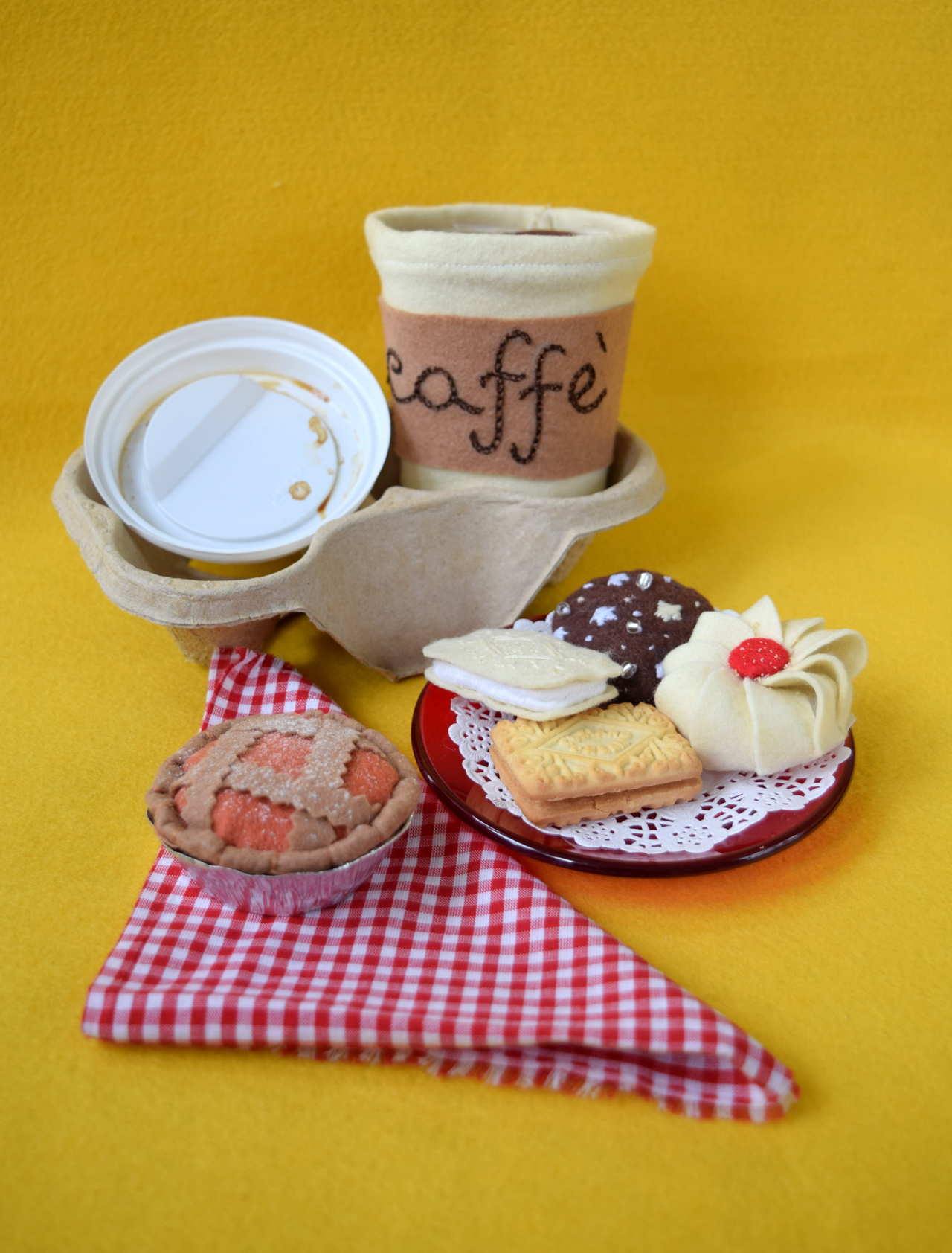 'Coffee Time'. Handmade by Ilaria from Zest & Lavender