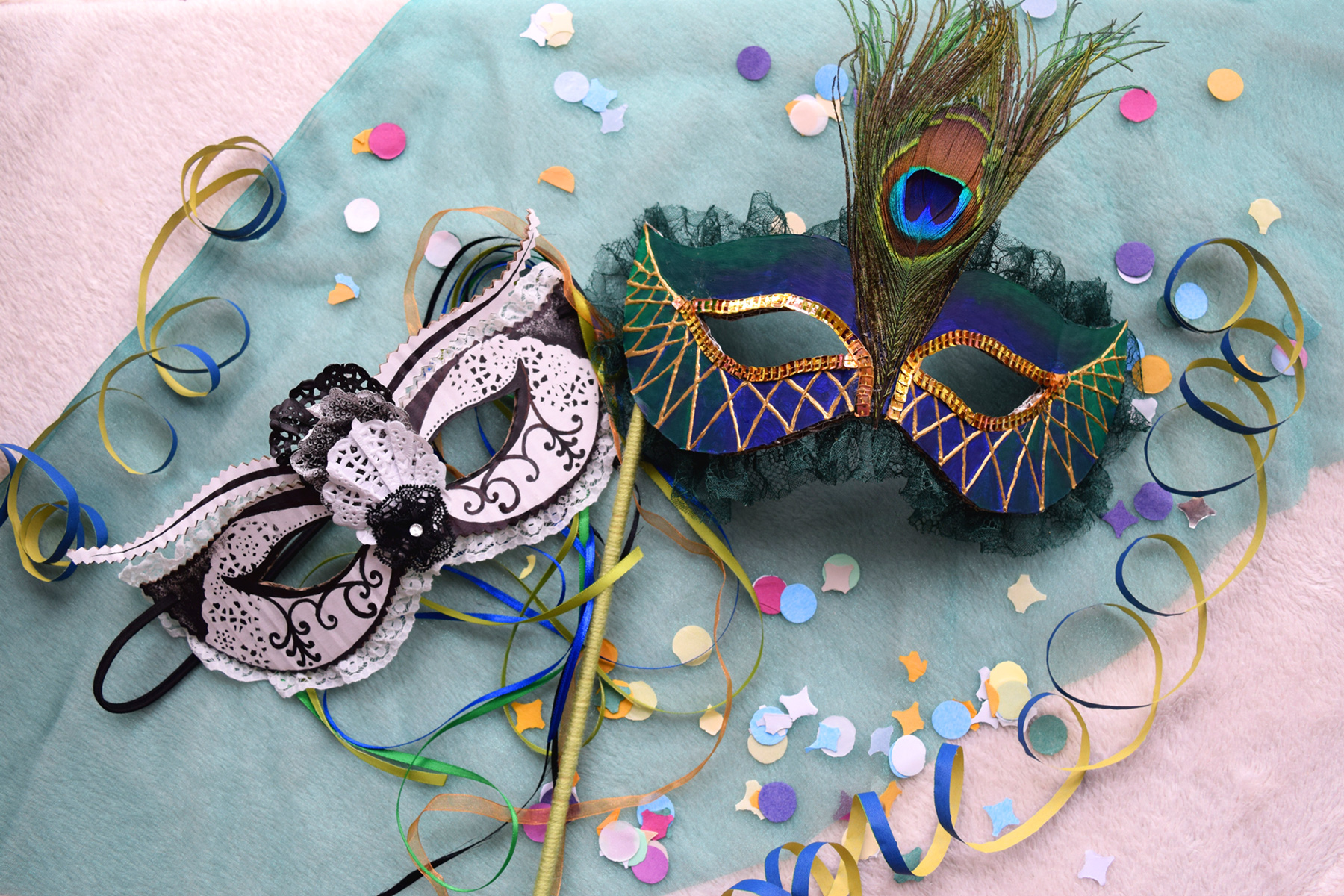 How to make carnival masks for the Casanova Grand Ball ...