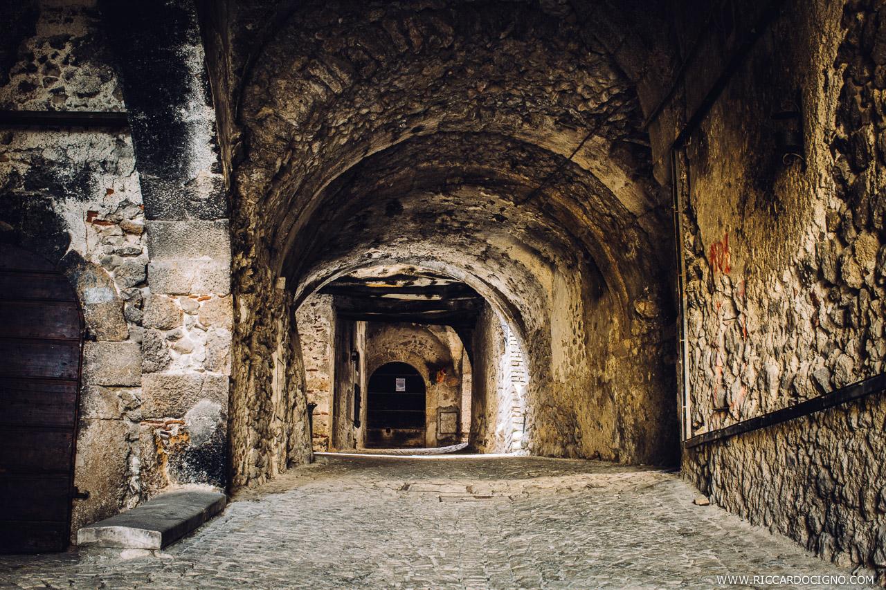 Under the Arches of Santo Stefano di Sessanio