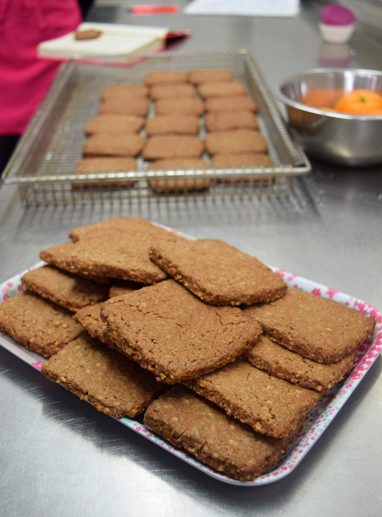 Quadrotti al Cioccolato e Arancia