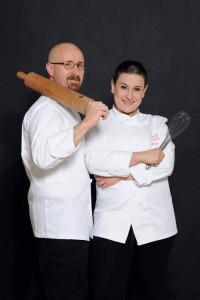 Massimo Martini and Marianna Olivieri from Senza Glutine photographed by Massimiliano Giancristofaro