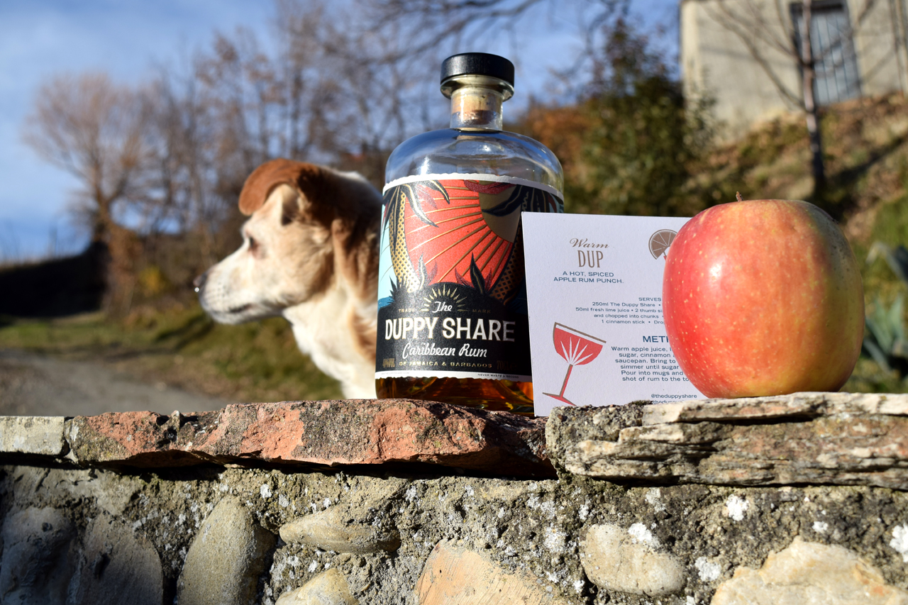 Duppy Share Caribbean Rum for a wonderful winter punch.