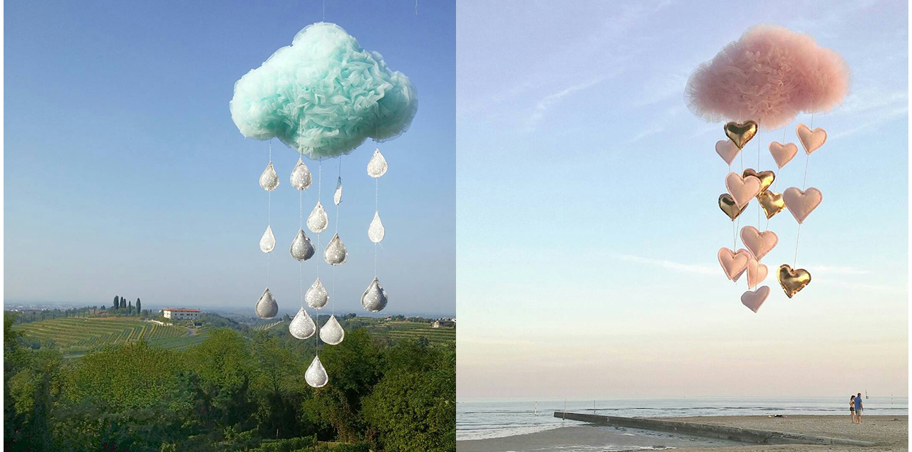 'Clouds' by Laura from Solo un Sogno