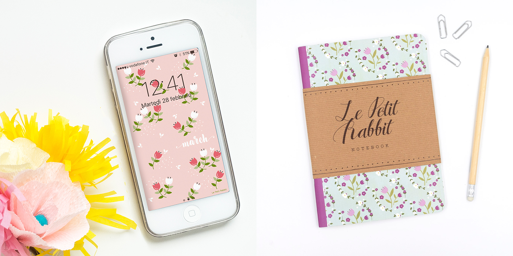Graphic Design with Love by Giulia from Le Petit Rabbit
