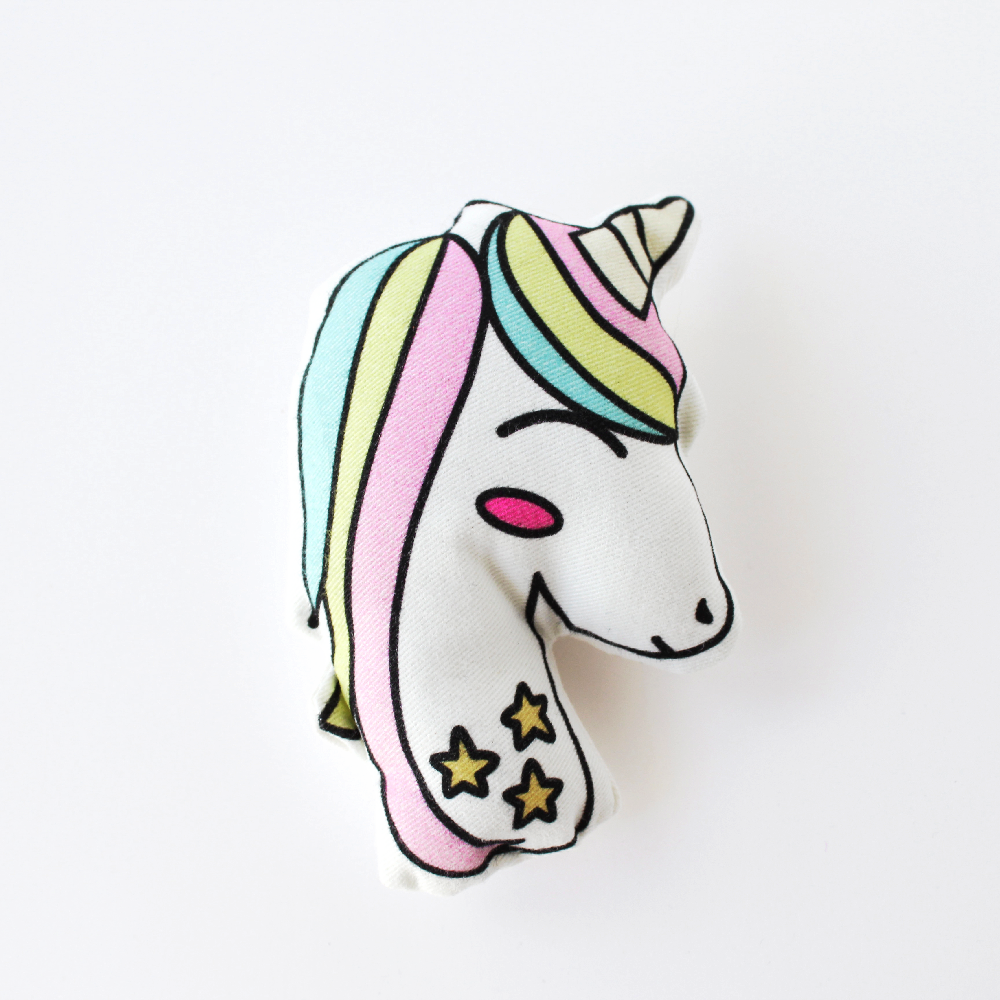 Unicorn pillow by Vale