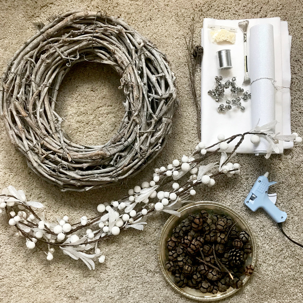Materials for the wreath