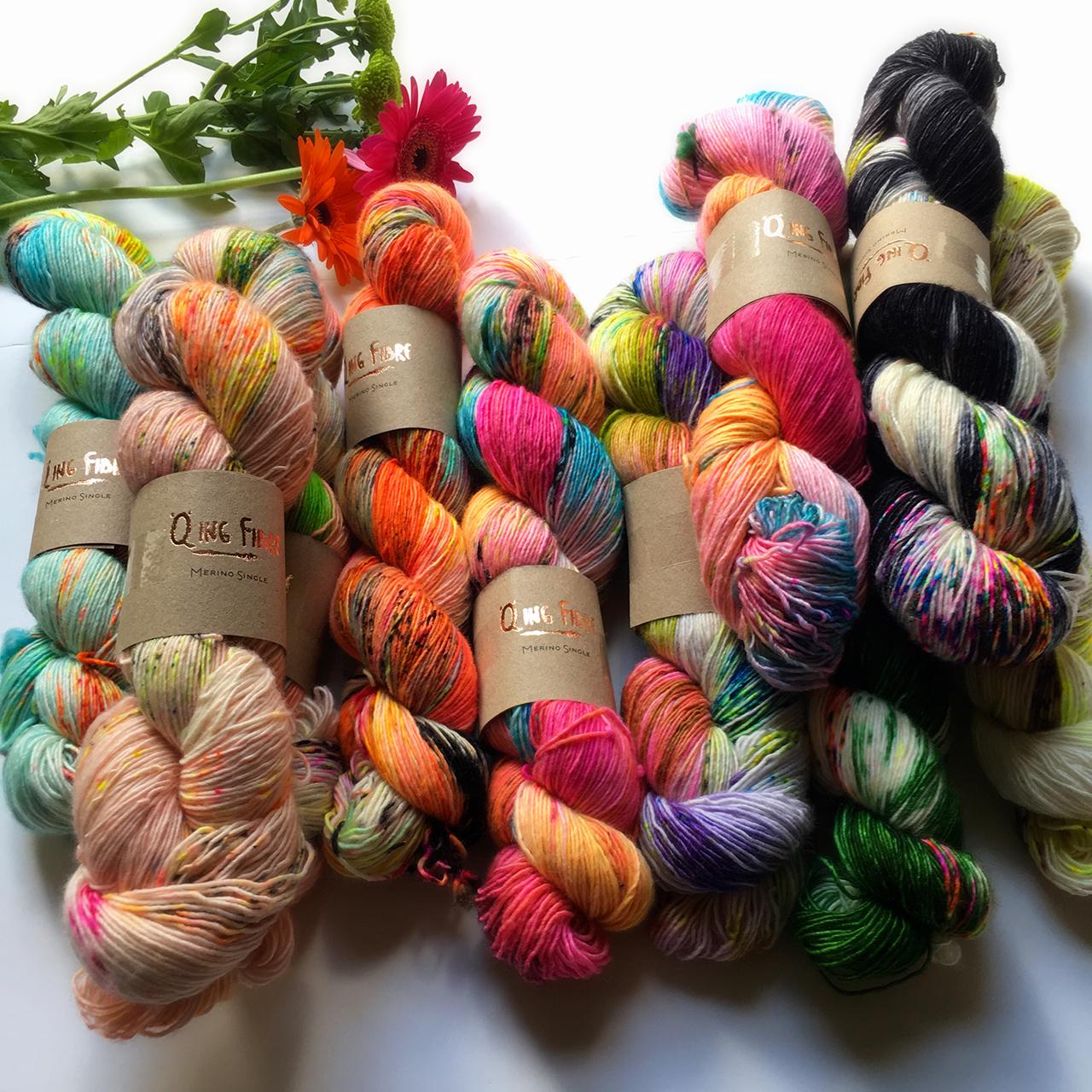 Hand-dyed Yarn at Loop London